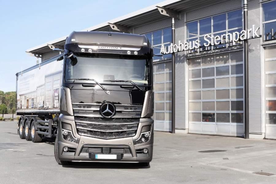 Werbe-Truck am Drivers Park