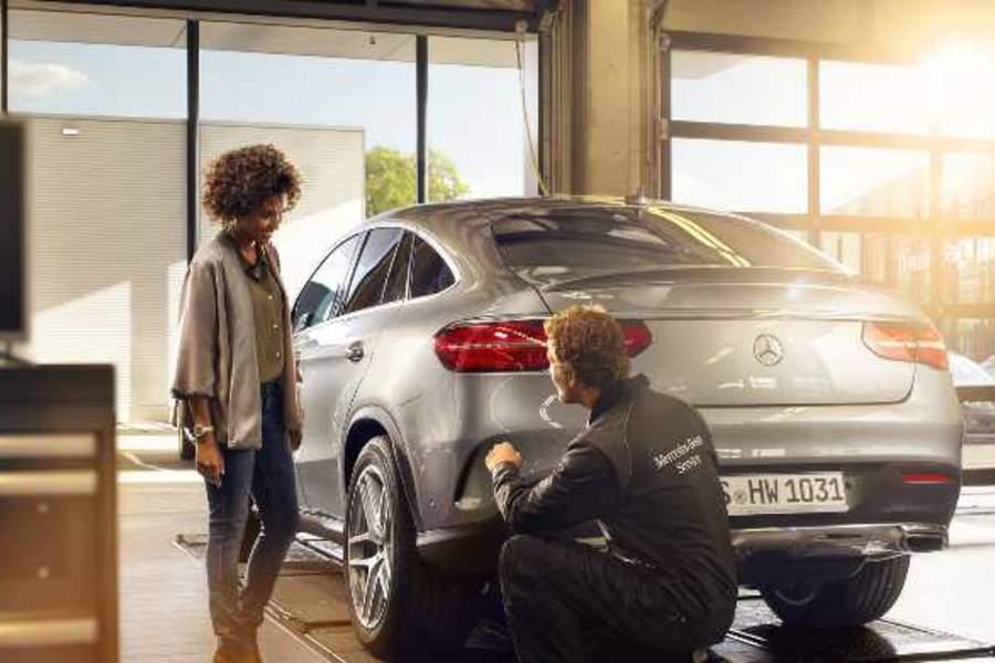 Das Mercedes-Benz Garantie-Paket.