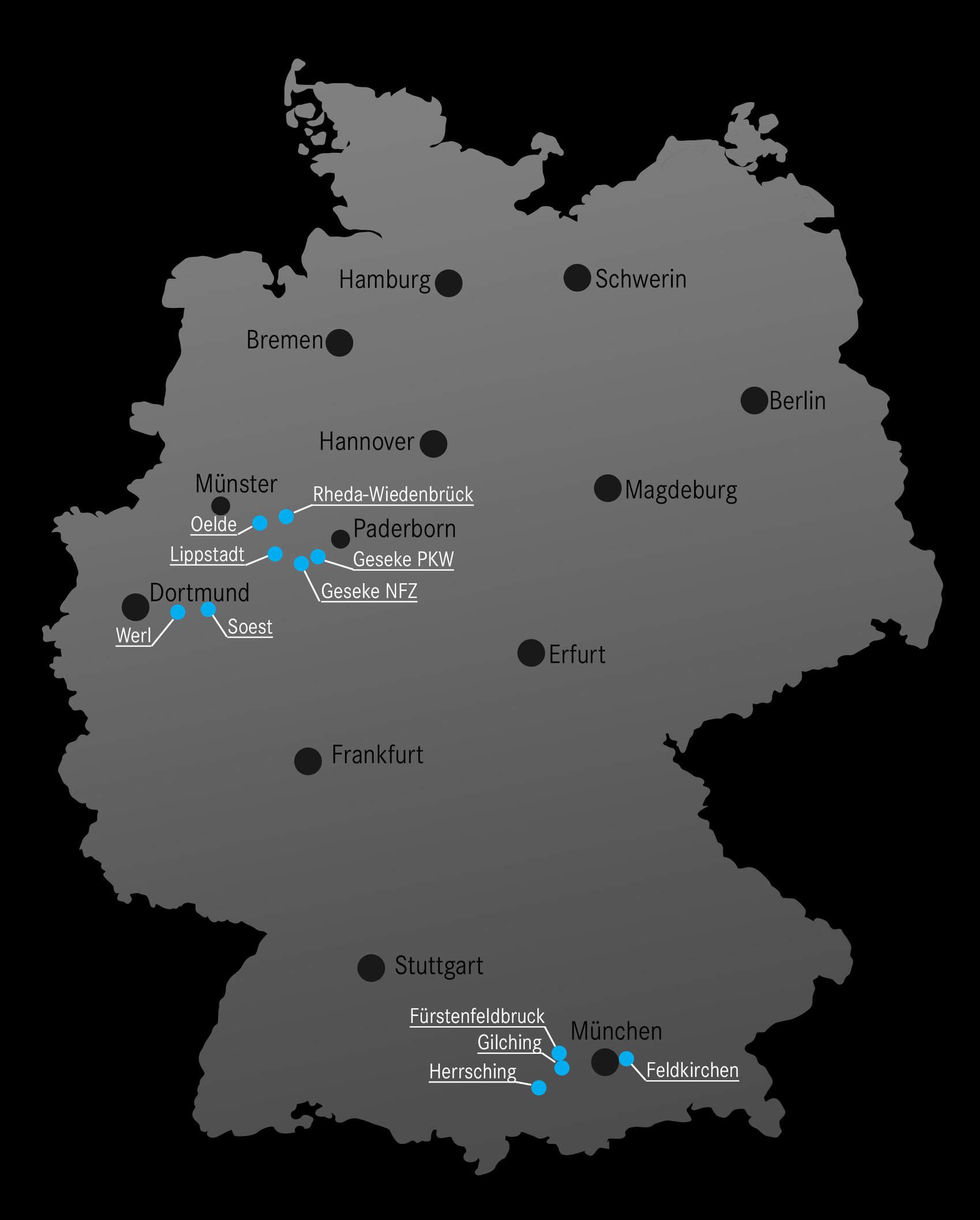 Standorte Sternpark Mercedes