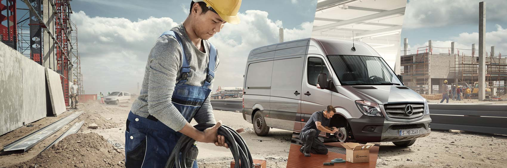 Mercedes Benz Garantie Paket für Transporter