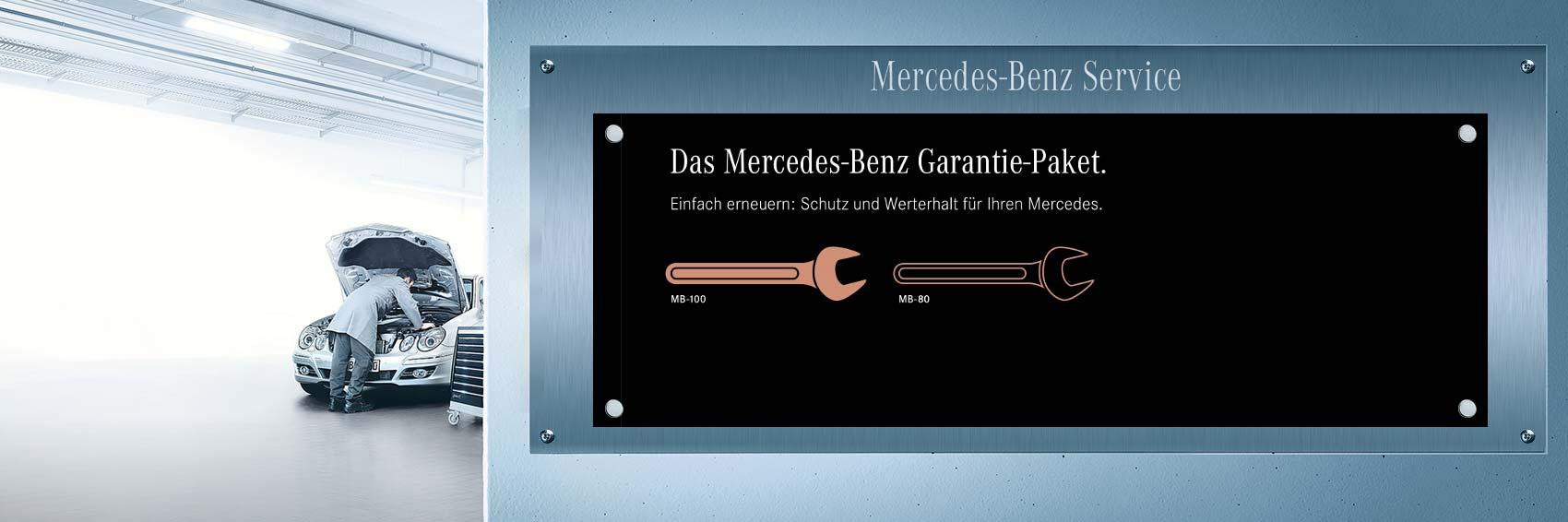 Mercedes-Benz Garantie-Paket