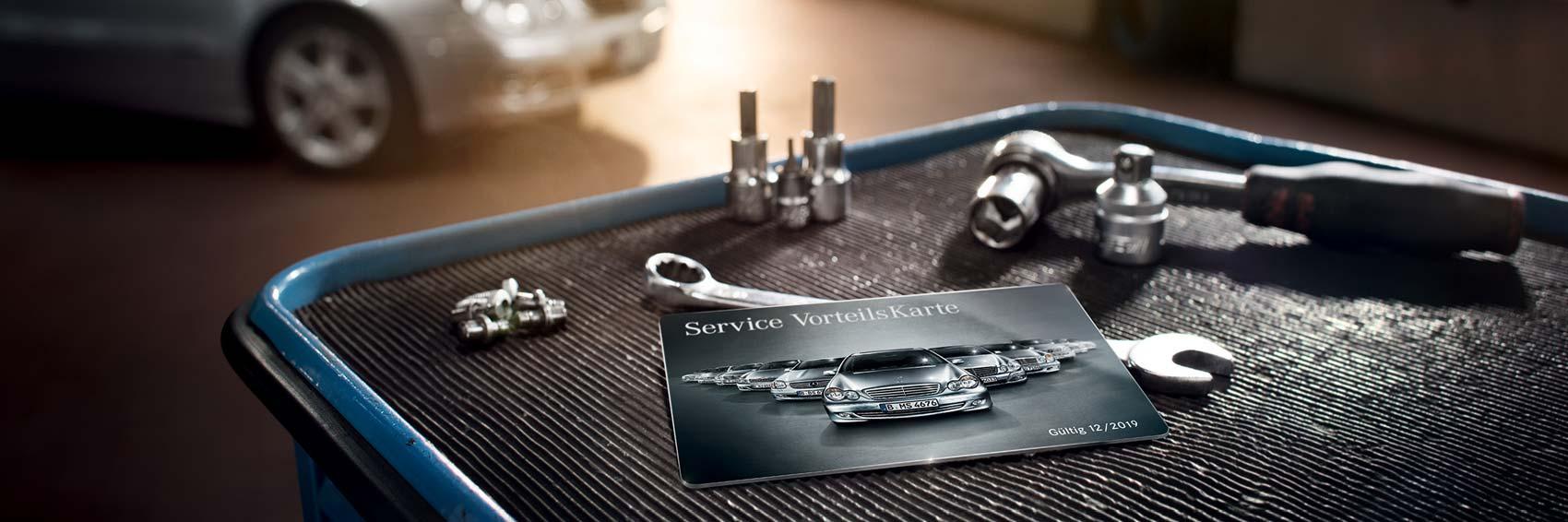 Mercedes-Benz Service Vorteilskarte