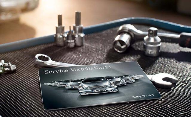 Mercedes-Benz Vorteilskarte