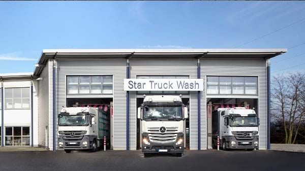 Star-Truck-Wash in Geske