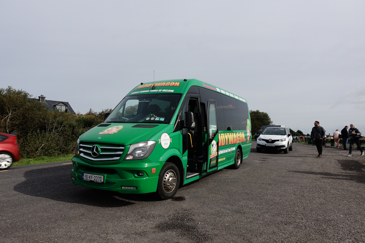 Der Paddywagon Tourbus